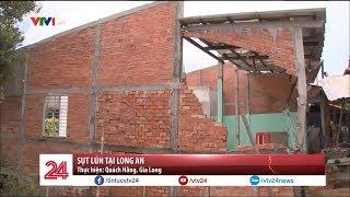 Sụt lún nghiêm trọng sau mưa lớn tại Long An - Tin Tức VTV24
