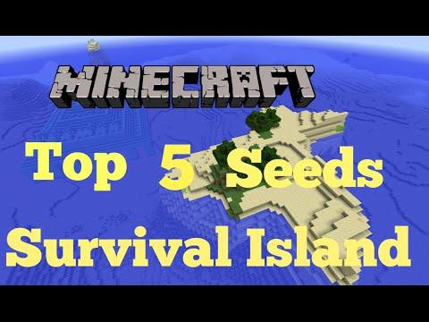 Top 5 Minecraft survival island seeds (Minecraft 1.8) 2014