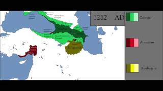 History of the South Caucasus - Every Year