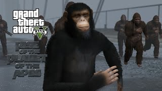 GTA 5 Mod: Planet of the Apes - Trailer