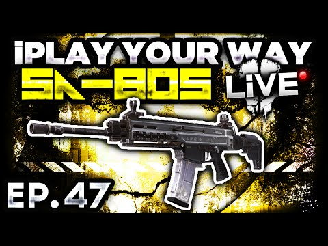 CoD Ghosts: SA-805 Gameplay! -