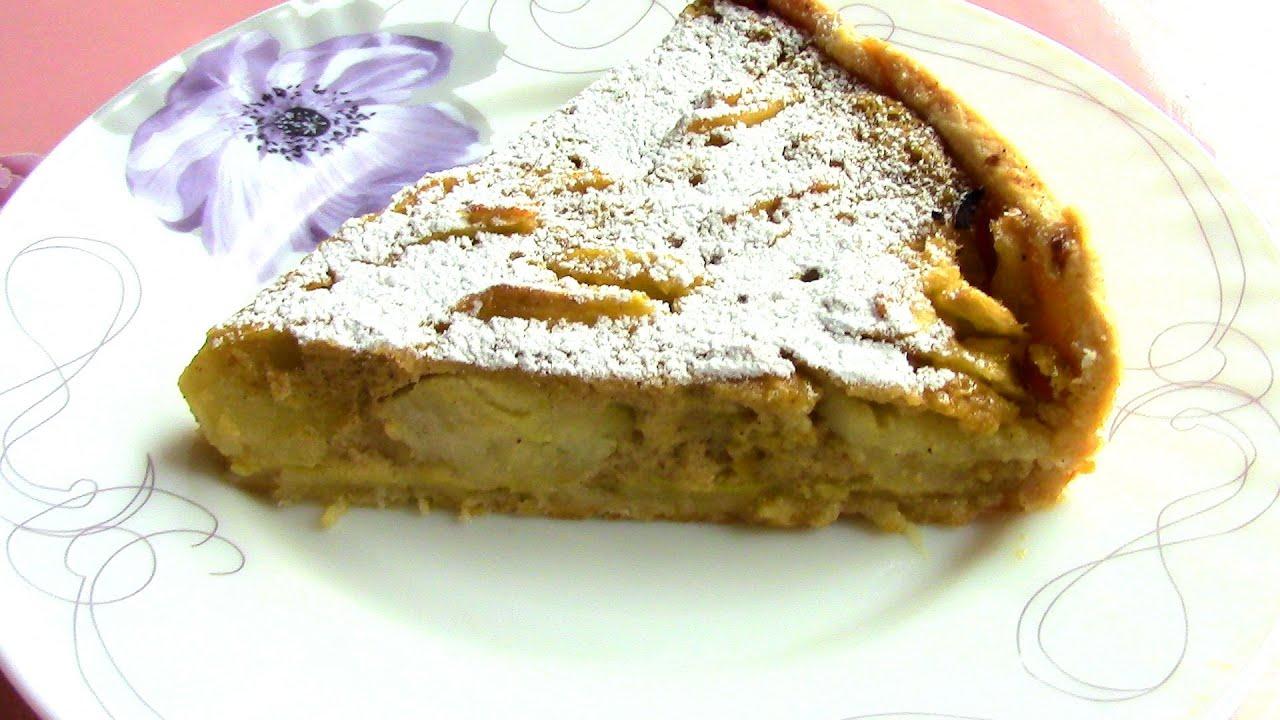 Рецепт яблочного пирога в духовке простой в домашних