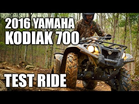 TEST RIDE: 2016 Yamaha Kodiak 700 EPS
