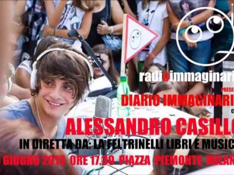 Casillo con Radio Immaginaria a Milano 18-06-13