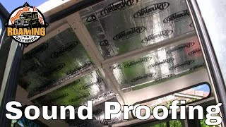 Defender Sound Proofing Upgrade Dynamat Xtreme