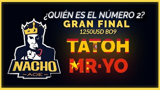 GRAN FINAL - TATOH vs MR.YO - BATALLA EPICA AL BO9 - Quien es el #2?