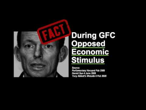 You Can't Trust Tony Abbott with Australia's Trillion Dollar Economy