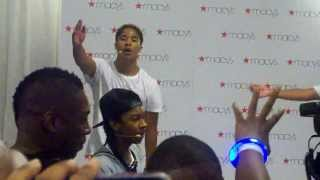 Mindless Behavior Macy's Event (Keep Her On The Low)
