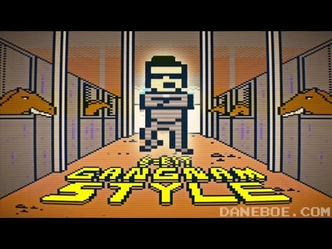 8-bit Gangnam Style! () M/V