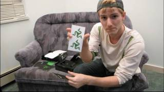 Razer Imperator High Performance Ergonomic Laser Gaming Mouse Unboxing & First Look Linus Tech Tips