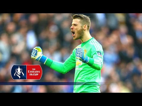 Pitchside view - Everton 1-2 Manchester United - Emirates FA Cup 2015/16 (Semi-Final) | Snapshots