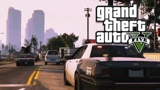 GTA V: How To Quickly Evade Cops [GTA 5]