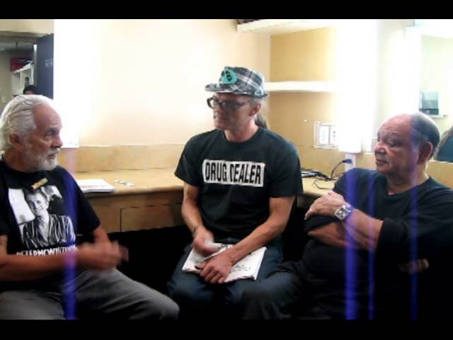 Ted interviews Cheech and Chong