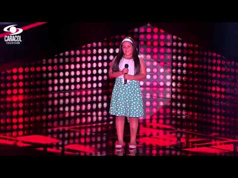 Danna Cantó 'corre' De Jesse & Joy  – Lvk Colombia – Audiciones A Ciegas – T1 video
