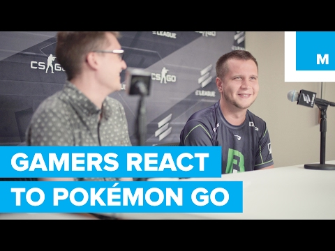 Professional Gamers React to Pokémon Go