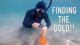 I Found 3 Rings GOLD & Much MORE!! with CHEAP Underwater Metal Detector