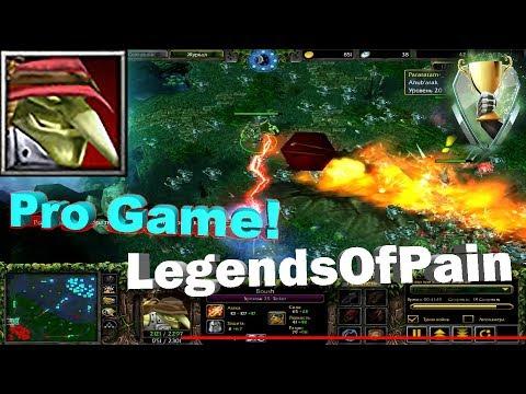 Dota 1 - LegendsOfPain | Tinker , Boush vs RDTB! (Pro Gameplay)