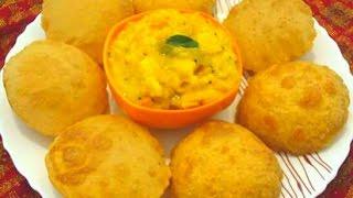 আলু পুরি রেসিপি    Homemade Alu puri recipe.