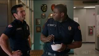 Jay Hayden / Travis & Grant (cute scene) - Station 19 (TV Series)