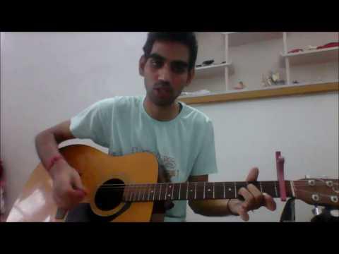 Teri Galliyan - Unplugged -COMPLETE GUITAR COVER LESSON CHORDS - Shraddha Kapoor Ankit Tiwari