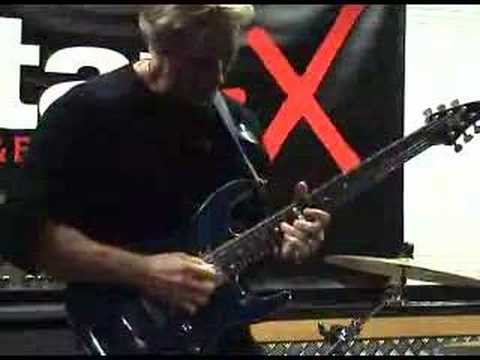 Brett Garsed clinic at Guitar-X