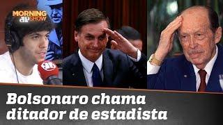 """Bolsonaro """"pirou"""" ao chamar ditador paraguaio de estadista? Caio Coppolla analisa"""