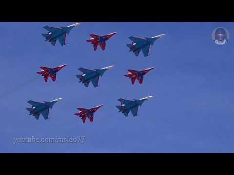 Воздушный Парад Победы 2018 Радиообмен / Airforce Victory Parade. Live ATC
