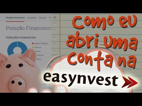 Abrindo uma conta na corretora (Easynvest) #1