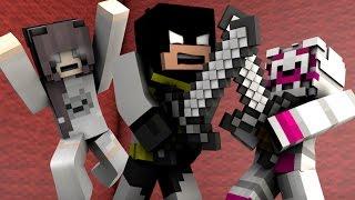 Minecraft FNAF: Batman Vs Evil Funtime Foxy - Anna Turns into an Animatronic