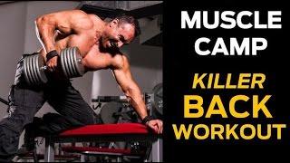The Ultimate Back Workout: Upper, Middle & Lower Back Exercises For A V-Shaped Back