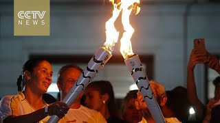 2016 Rio Olympics: Torch relay arrives in state of Rio