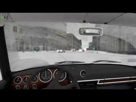 [City Car Driving 1.5.2] - Дрифт на ВАЗ 2106 по новому городу/Drift on the VAZ-2106 in the city #2
