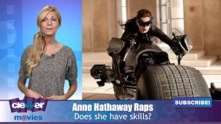Anne Hathaway Raps Against 'The Dark Knight Rises' Paparazzi
