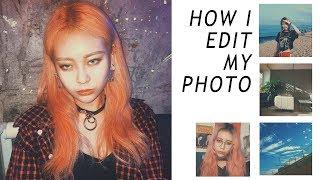 필름카메라 구닥처럼 사진보정하는 방법 | 사진보정어플 | HOW I EDIT MY INSTAGRAM PHOTOS |EUNBI은비