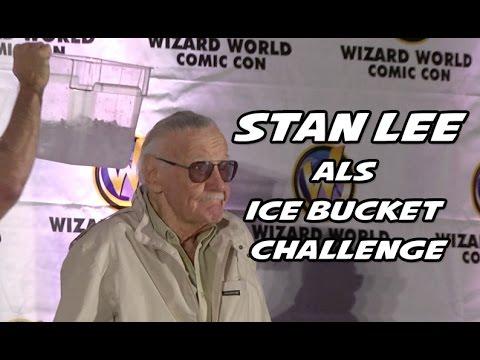 Stan Lee accepts ALS Ice Bucket challenge