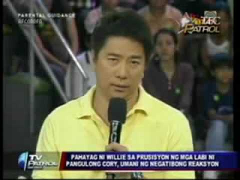 Willie Revillame+Cory Aquino+MTRCB+KBP