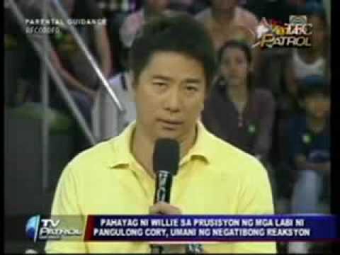 Willie Revillame+Cory Aquino+MTRCB+KBP