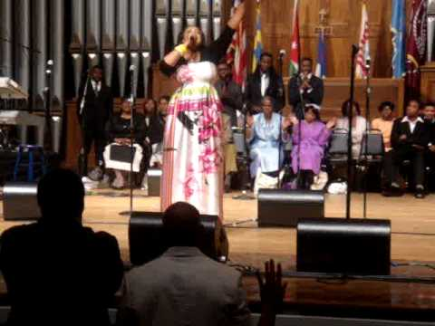 Kierra Sheard- Alpha and Omega Live at Morehouse Gospel Concert
