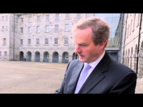 Irish Prime Minister speaks about 2016 and Notre Dame