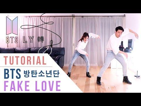 BTS - Fake Love Dance Tutorial (Mirrored) | Ellen and Brian