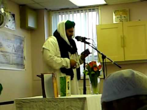 Dawateislami Weekly Ijtima 2010 In Bradford Faizane Madina Basharat Attari Reading Naat.mp4 video