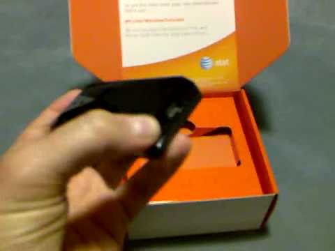 Unboxing the HTC Touch Pro/Fuze