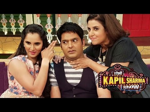 Sania Mirza & Farah Khan On The Kapil Sharma Show