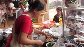 Breakfast at Chi Phat Koh Kong Province
