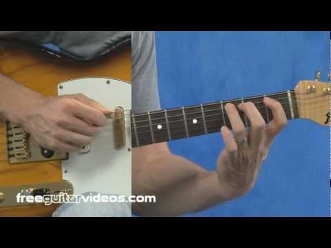 F Blues Licks Guitar Lesson