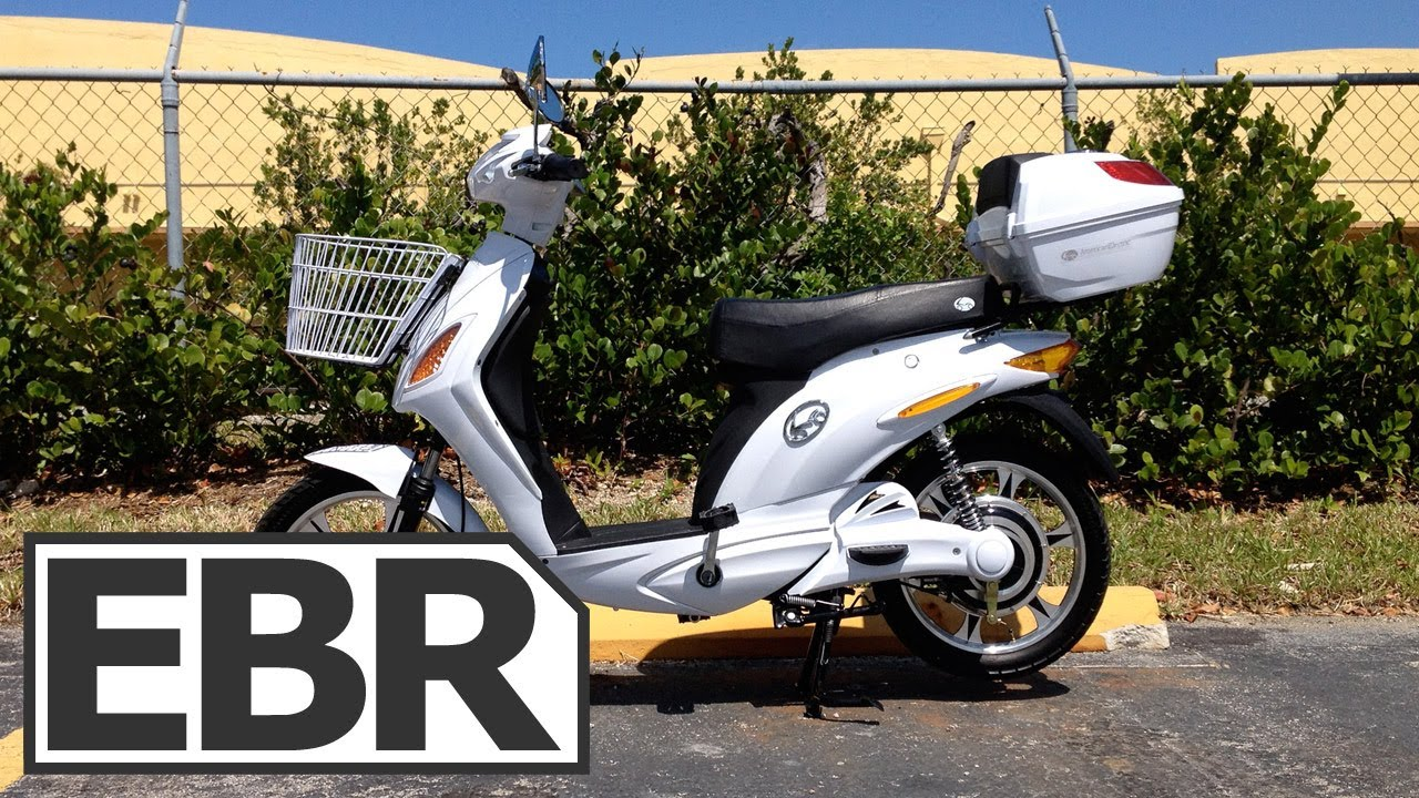Americanelectric Bike Re Video Review Scooter Style