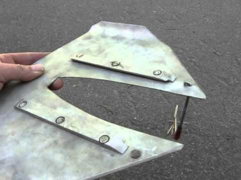 Гидрокрыло для подвесных лодочных моторов своими руками 67