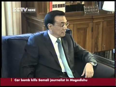 Chinese Premier Li Keqiang meets Greek President