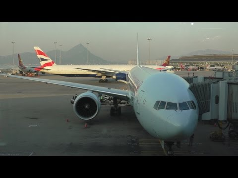Air Canada 777-300ER Toronto - Hong Kong Full Turnaround with ATC + Landing