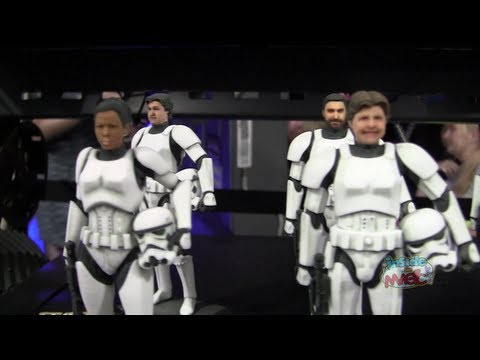 Custom Stormtrooper D-Tech Me figure experience during Star Wars Weekends 2013 at Walt Disney World